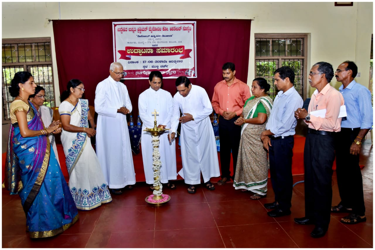 <b>Uddheshitha Unnathi Christian Minority Co-operative Society inaugurated at Mulki</b>