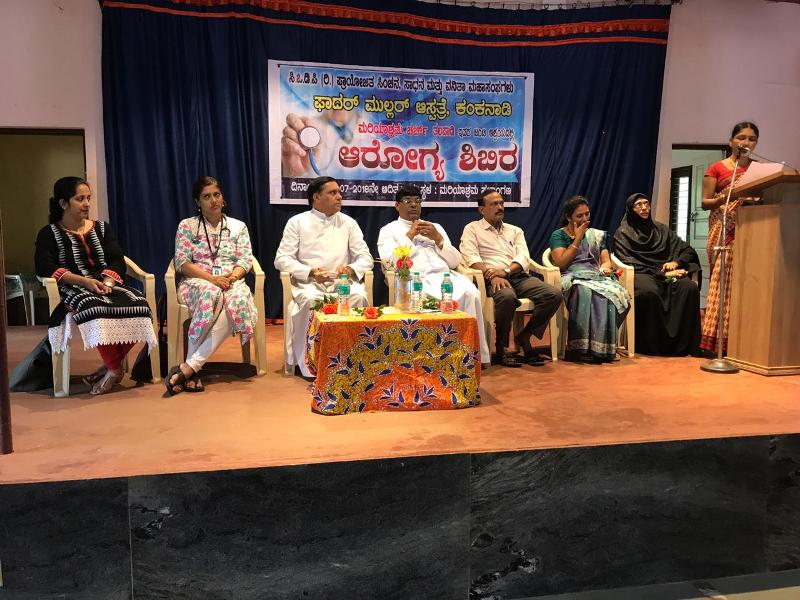<b>CODP� & Fr Muller Hospital, Mangaluru organize Free Health Camp at Talapady</b>
